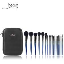Jessup <b>Makeup brushes</b> 18pcs Make up brush set & <b>1PC</b> Cosmetic ...