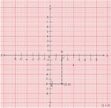 Plot The Point P 2 6 On Graph Paper And From It Draw Pm And Pn As