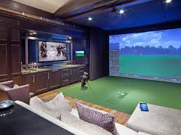 home media room designs. Feeling Like Small Media Rooms Playing Golf Right Here Handmade Wonderful Decoration Comfortable Pillow Good Collection Home Room Designs C