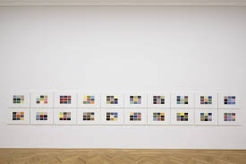 Gerhard Richter Colour Charts In London Presented By