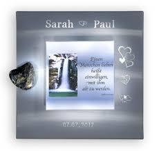 Geschenk Zur Hochzeit Wasserfall Und Hochzeitsspruch Silbergrau