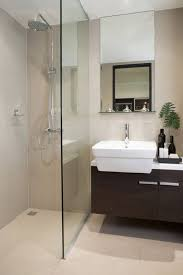 simple bathrooms with shower. A Simple Bathroom With Modern Touch, This Space Features One Panel Of Glass As Bathrooms Shower O