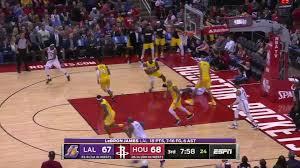 60-Second Recap: Houston Rockets vs. Los Angeles Lakers ...