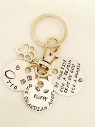 pet memorial keychain pet memorial jewelry by masterpeacedesign