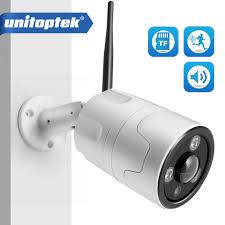 Ngoài trời WIFI IP Camera ONVIF 1080 P Ống Kính Fisheye 180 Độ Xem An Ninh  Bullet Ngày/Đêm Xem Trang Chủ CCTV giám sát Máy Ảnh|Camera giám sát