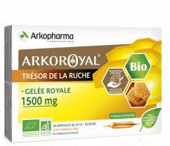 Arkoroyal® Gelée Royale BIO <b>1500 mg</b> | Arkopharma