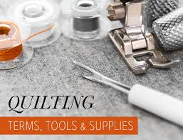 Quilting Terms, Tools & Supplies - Suzy Quilts &  Adamdwight.com