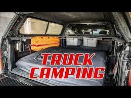 F150 Truck Camping Setup - YouTube | The Green Truck | Truck camping ...
