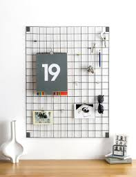 Funky Memo Boards Grey Wire Mesh Memo Board Wire mesh Apartment goals and 2