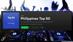 Spotify Charts Philippines Philippines Top 50 Spotify Charts Jan 18 2018