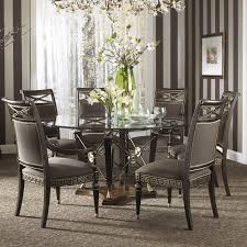minimalist formal dining room interior ideas featuring classic simple formal round dining room tables