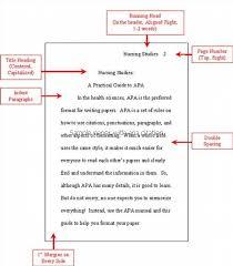Sample Paper With Apa Citation Apa Style Paper Apa Essay