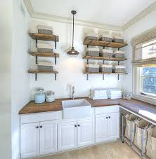 Designs Ideas:Unique Glass Jars For Laundry Room Storages Country Laundry  Room With Rustic Open