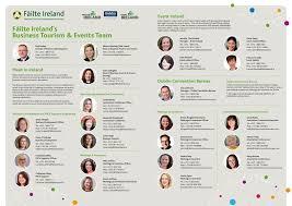 Fáilte Ireland's Business Tourism & Events Team