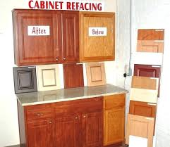 How Reface Kitchen Cabinets Interesting Home Depot Cabinet Refacing Reviews Home Depot Cabinet Refacing