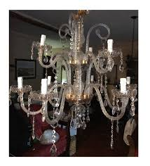 maria theresa style chandelier with 31 lead crystal glass pendants