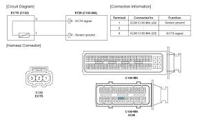 kia soul engine coolant temperature sensor ects schematic schematic diagrams engine control system engine control fuel system kia soul 2014 2017 ps service manual