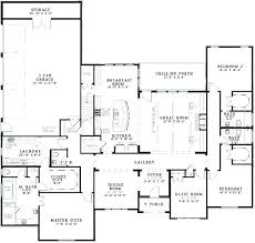 floor plan for 4 bedroom house one story four plans small modern pdf