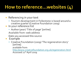 Citing and Referencing in the Harvard Style by HCARE library