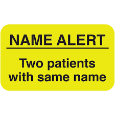Chart Labels Medical Patient Chart Stickers