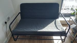 ikea hammarn 2 seater sofa bed barely used rrp 95
