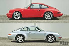 opinion is the porsche 964 carrera a better car than the 993 view full size