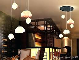 pendant lighting with matching chandelier