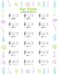 Flute Finger Chart Free 38 Memorable Flute Finger Chart Pdf