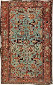 antique rug heriz 12x8 bb2402