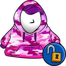 Pink <b>Hip Hop Hoodie</b> | Club Penguin Online Wiki | FANDOM ...