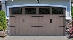 designer steel garage door
