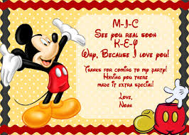 Free Printable Baby Mickey Mouse Invitations Free Printable Baby Mickey Mouse Invitation