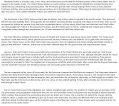 narrative essay on manifest destiny at com essay on narrative essay on manifest destiny