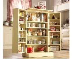 Kitchen Food Storage Cabinets Freestanding Larder Wooden Cupboard Buttermilk Kitchen Food