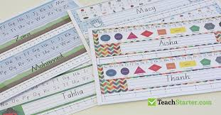 classroom labels deskplates that you can customise