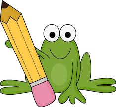 Image result for teacher frog cartoon clipart cute