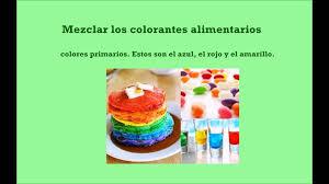 Como Hacer Colores Con Colorantes Alimentarios Organicos Youtube