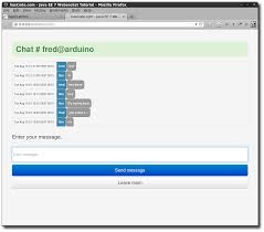 hascode com blog archive creating a chat application using the final chat application