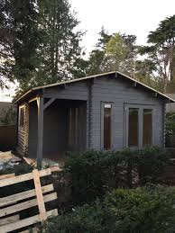 garden office 0 client. The Pottery Cabin - Painted Garden Office 0 Client