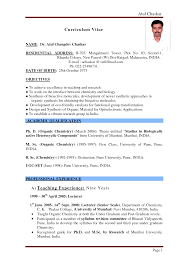 Resume For Teachers Job Pdf Best Resumes To Teaching Resume Format