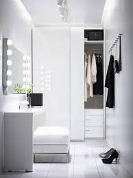 Kleiderschrank Pax Weiß Hasvik Hochglanzweiß Deco Ankleide