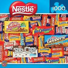 chocolate candy brands. Perfect Brands Image Is Loading MASTERPIECESCANDYBRANDSJIGSAWPUZZLENESTLECHOCOLATES 1000 With Chocolate Candy Brands A