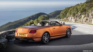 2018 bentley supersports convertible. contemporary convertible 2018 bentley continental gt supersports convertible color orange flame   rear threequarter wallpaper to bentley supersports convertible 1