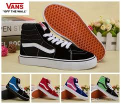 vans shoes high tops for boys. vans classic retro kids shoes sk8 hi high top casual boys girls canvas winter boots black white red skateboarding sports sneakers 26 35 office tops for o