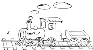 Coloriage Train Et Wagon Imprimer Coloriage Dessin Train A Colorier L