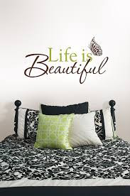 Beautiful Wall Quotes Best of Life Is Beautiful Wall Quote Decorative Wall Appliques Amazon