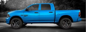 2019 Ram 1500 Classic Express Hydro Blue Package Features
