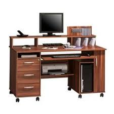 Office desk with drawers Right Hand Corner Maja Exeter Mobile Office Walnut Computer Workstation 9475 From Selection Of Office Desks With Pinterest Home Office Desks With Drawers