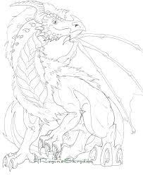 Komodo Dragon Coloring Page Free Printable Dragon Coloring Pages