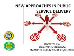 New Approaches in Public Service Delivery SlideShare